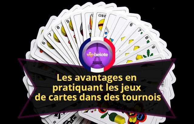 jeux de cartes dans des tournois