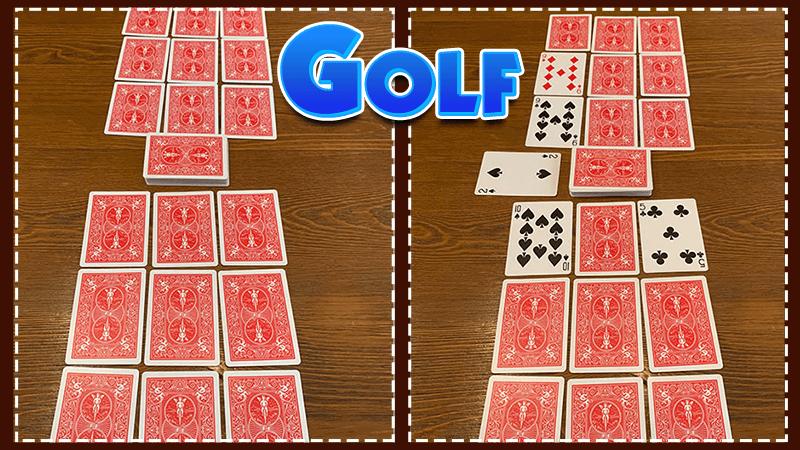 règles du jeu de cartes golf
