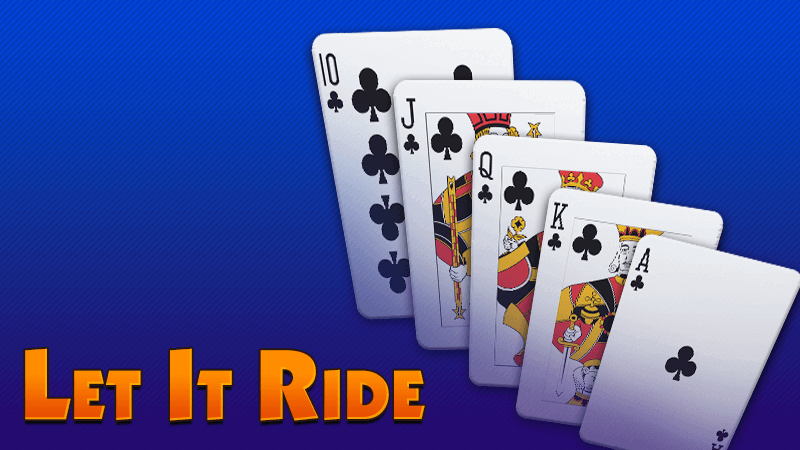 let it ride jeu de cartes