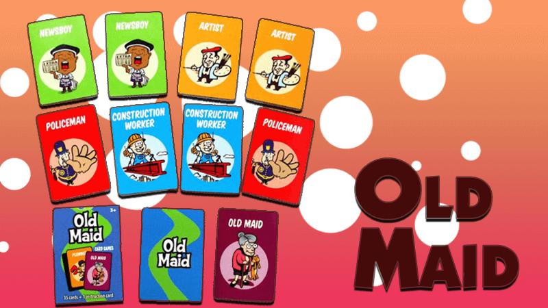 règles du jeu de old maid