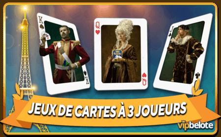 Jeux de cartes à 3 joueurs